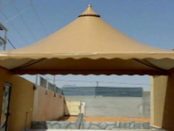 مظلات قبب – مظلات هرمية